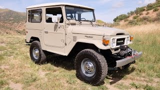 TLC4x4 Restored FJ40 Overview and Buyers Guide