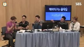 [SBS]두시탈출컬투쇼,나몰라패밀리 고장환, 정찬우가 인정한 중국어 개그!