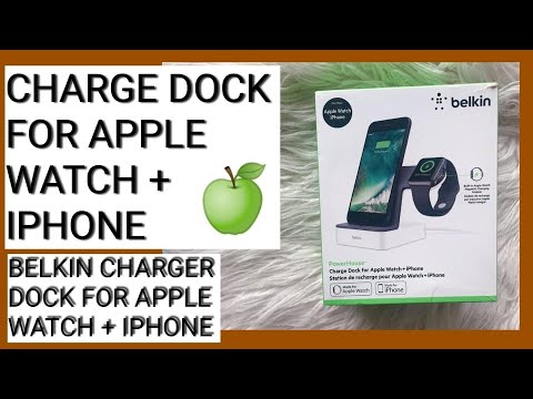 Belkin Unboxing | Charge Dock For Apple Watch + IPhone | Unboxing Belkin Dock Charger