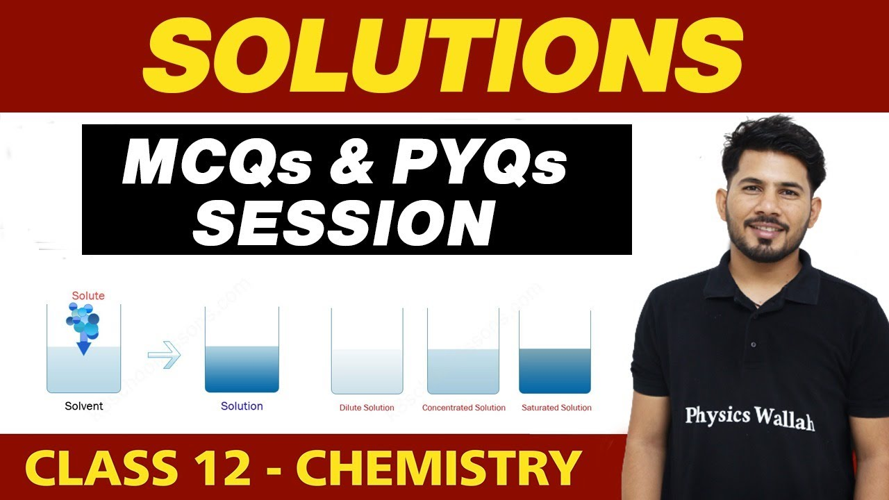 Download Solutions : MCQs and PYQs Session || Class 12th NCERT