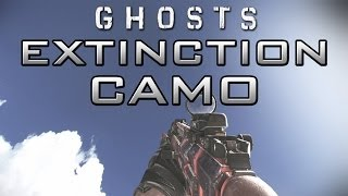 """Call of Duty: Ghosts """"Extinction"""" Camo on All Weapons! CoD Ghost"""