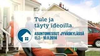 Asuntomessut Jyväskylässä 2014 Äijälanrannan kauniissa maisemissa 11.7.-10.8.