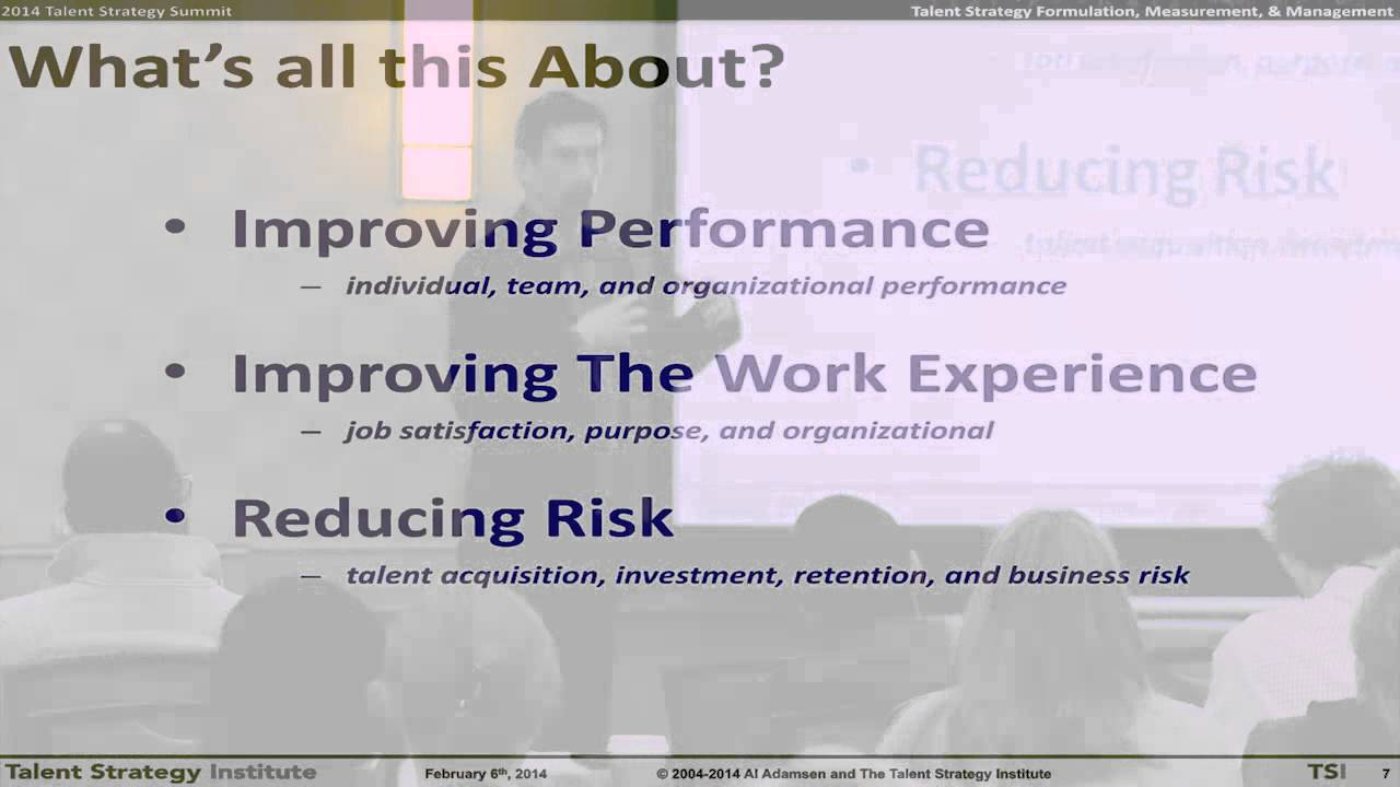 Why do Workforce Planning & Analytics?