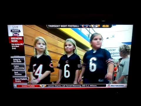 Saint Joseph Catholic Academy Packers vs. Bear nfl