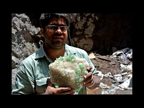 Spectacular Find Of Apophyllite In Well In Rahuri, India 2013