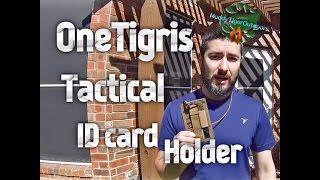 OneTigris Tactical ID Card Holder - MuddyTigerOudoors