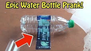 Easy Water Bottle Prank You Can DO RIGHT NOW On Friends and Family- HOW TO PRANK (April Fools' Day)