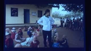 SBS 희망TV 제작발표회 연예인 아프리카 봉사 영상
