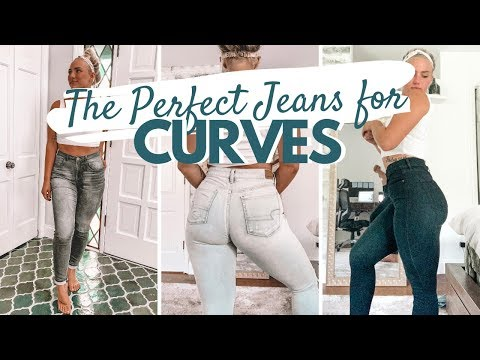 The Perfect Jeans for Curvy and Athletic Girls | Try On Haul. http://bit.ly/2WCYBow
