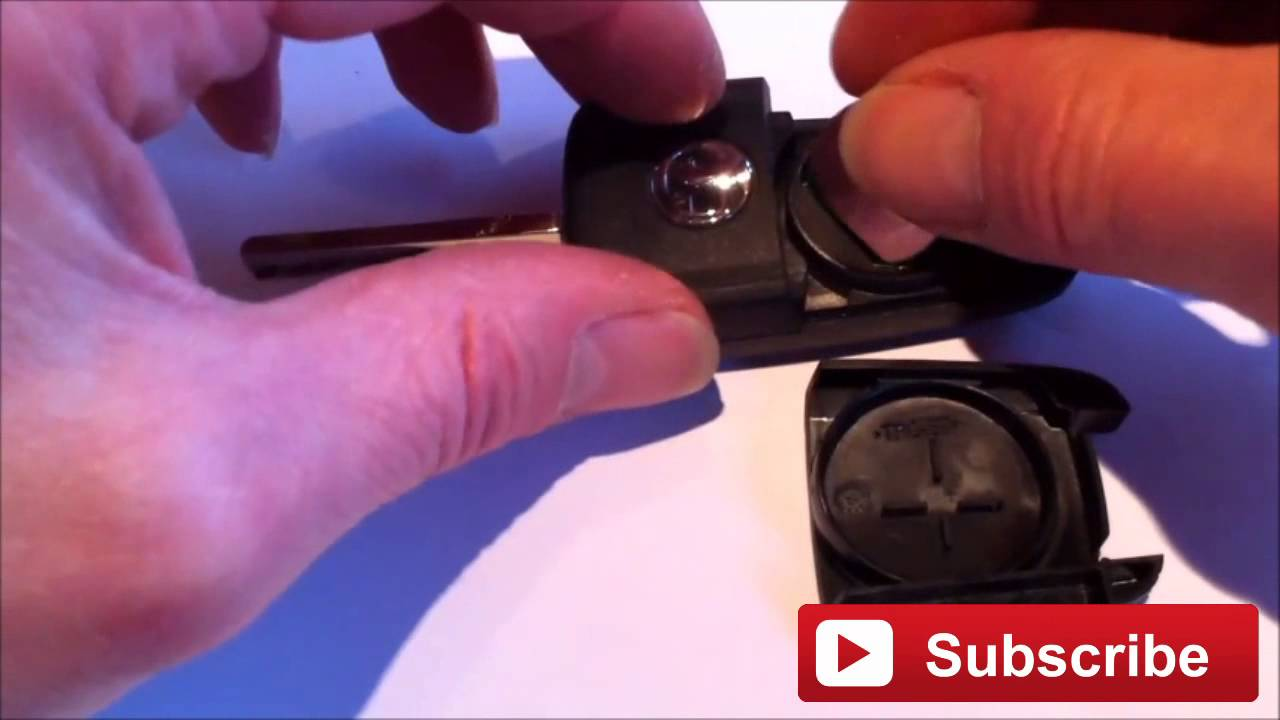 How To Change The Battery On Vauxhall Opel Flip Key Fob New Battery