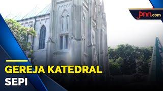 Jemaah Dibatasi, Gereja Katedral Tak Siapkan Kursi Tambahan saat Misa Natal - JPNN.com