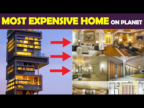 Most Expensive House In The World   Mukesh Ambani House