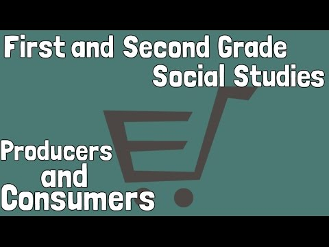 Producers and Consumers | First and Second Grade Economics Social Studies For Kids
