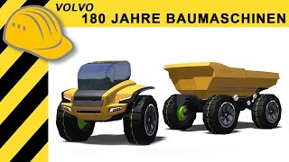 Volvo: 180 Jahre Baumaschinen - Documentary & Factory Tour Volvo Construction Equipment - Bauforum24