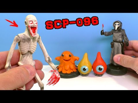 ЛЕПИМ СКРОМНИКА SCP-096 | КАПЛЕГЛАЗИКИ SCP-131 | ЩЕКОТОЧНЫЙ МОНСТР SCP-999 из пластилина