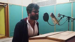 Actor Chandrashekar Dubbing In Diksoochi Dubbing Studio - iQlik Movies