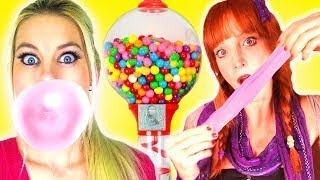DIY Candy Dispenser Using Everyday Objects! Learn How To Make GUMBALL Machine With Nutella