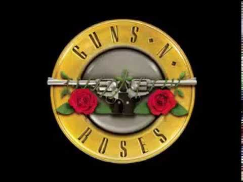 Knocking On The Heaven's Door STANDART TUNING Backing Track Guns And Roses