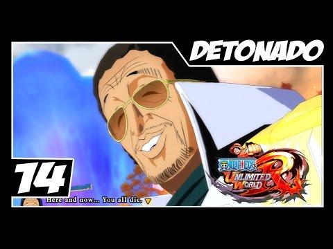 One Piece Unlimited World Red - Detonado Parte #14 - Marineford // Moshi, Moshi KIZARU!!