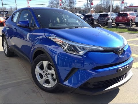 NEW 2018 Toyota CH-R XLE Review Blue Ecplipse | 1000 Islands Toyota Brockville
