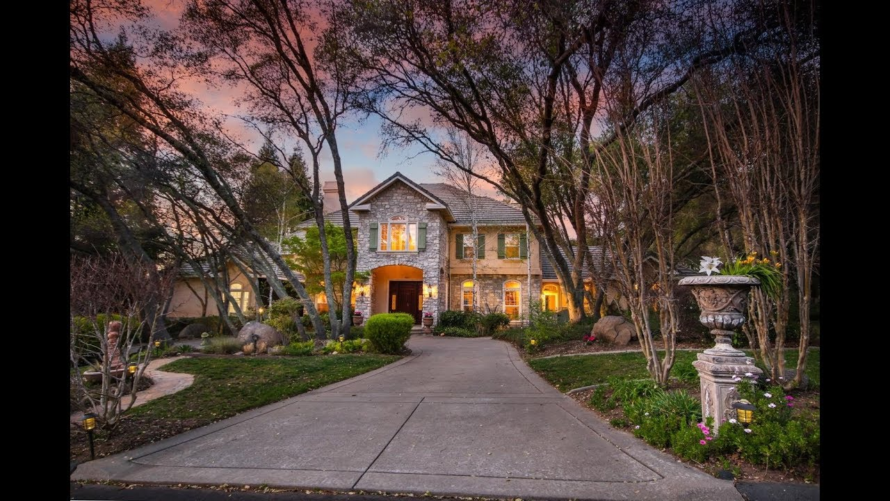One-of-a-kind Los Lagos home in Granite Bay, CA! - YouTube