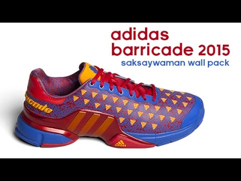 99dcf0aeb1c0 Tennis Shoe Overview  adidas Barricade 2015 - YouTube