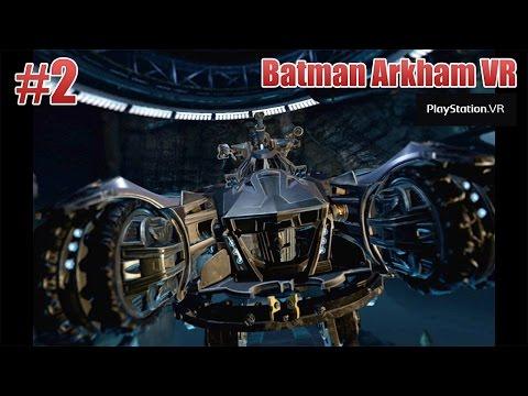 Batman Arkham VR – Parte 2: Explorando a Batcaverna!! Gameplay PT-BR (PSVR)