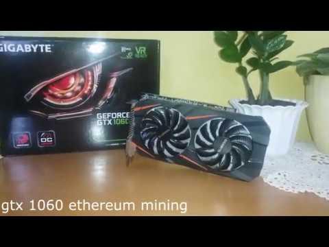 Gtx 1060 6gb Ethereum Mining