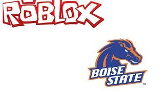 The Boise State Broncos In Roblox!