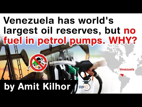 World's largest oil reserves nation Venezuela has no fuel in its petrol stations? What went wrong?