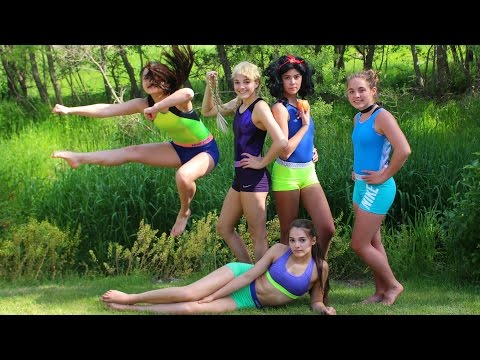 If Disney Princesses did Gymnastics