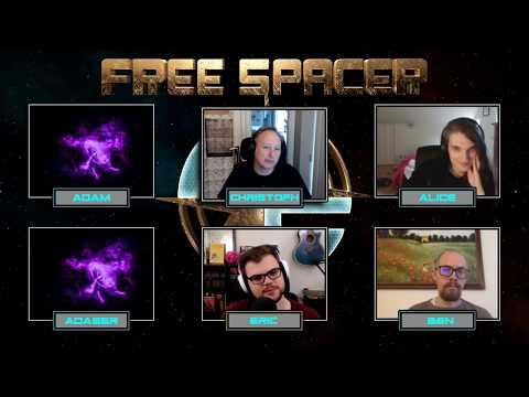 FreeSpacer   Sandbox Space RPG Q/A W/ @xophRA  