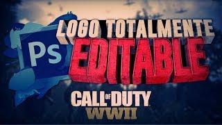Logo Template de COD WW2 Totalmente Gratis | FranWIZ