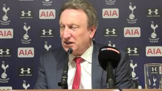Neil Warnock Pleased With Spurs Point