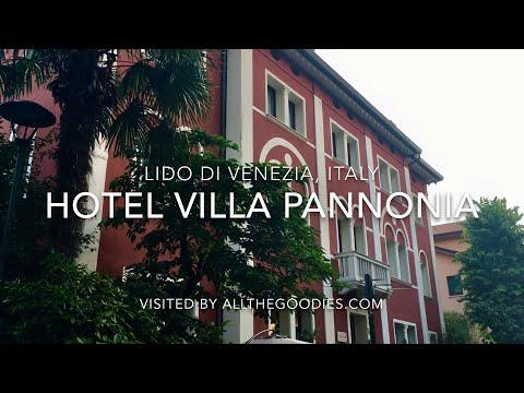 Hotel Villa Pannonia, Lido Di Venezia, Italy 4K | Allthegoodies.com