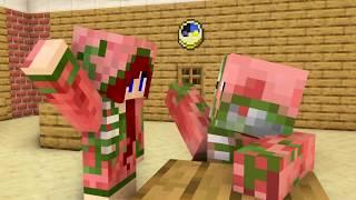 Monster School : GIRL BREWING CHALLENGE ALL EPISODES - Minecraft Animation