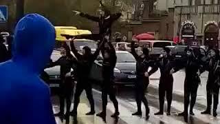 грузинские пешеходы