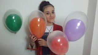 Como Colocar um Balão Dentro do Outro Para Festas de Aniversário .