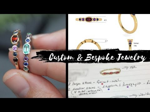 Our Custom & Bespoke Jewelry Process