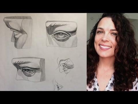 Watts Atelier Online Head Drawing Phase 2 - Week 18 - Eyes