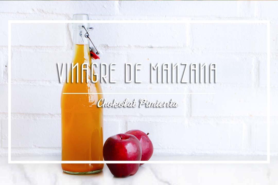 Vinagre de sidra de manzana es igual que vinagre de manzana