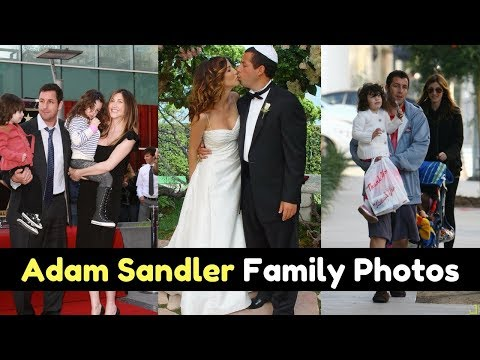 Actor Adam Sandler Family Photos With Spouse, Daughter, Childhood Picture