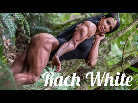 Rach White | Muscle Woman | IFBB Pro Physique | Female Bodybuilder | Fitness Model | Bodybuilding
