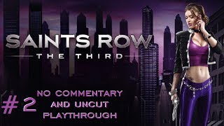 Saints Row 3 - Playthrough Part 2 - No Commentary/Uncut (HD PC Gameplay)