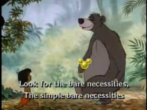 Image result for bear necessities