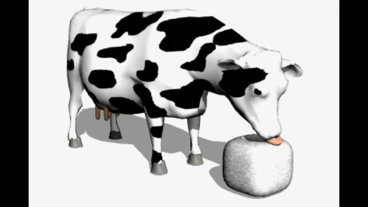 корова картинки анимации дивана цвета беж