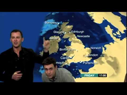 Scott & Chris present the weather