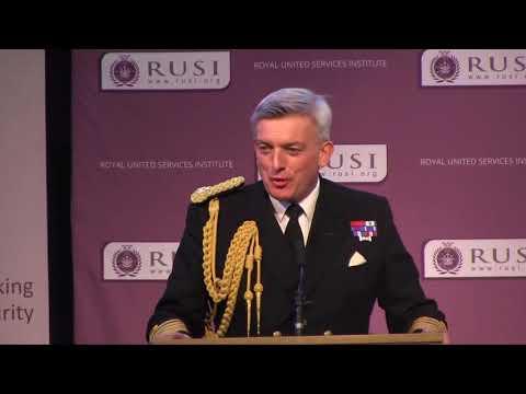 Admiral Sir Philip Jones - RUSI Gallipoli Memorial Lecture