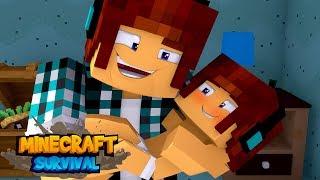 Minecraft Survival #23 - O FILHO DO AUTHENTIC !!