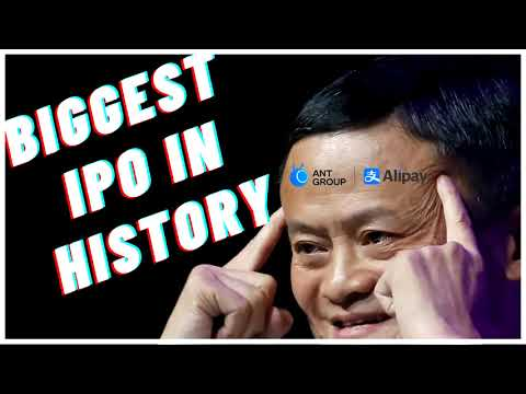 World's Biggest IPO In History Ant Group Financial - Alibaba's Jack Ma - How To Buy